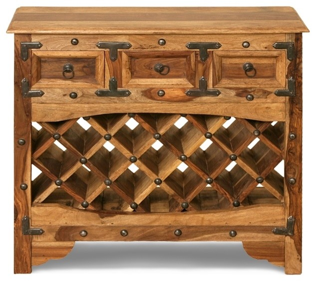 Wine Rack - Traditional - Indoor Pub And Bistro Tables - other metro - by Karni