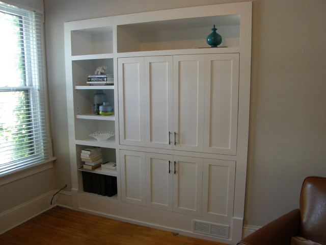 Milwaukee Built In Cabinets Traditional Storage And
