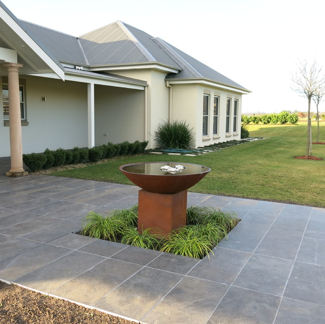 Sustainable landscape design rustic newcastle for Sustainable landscape design