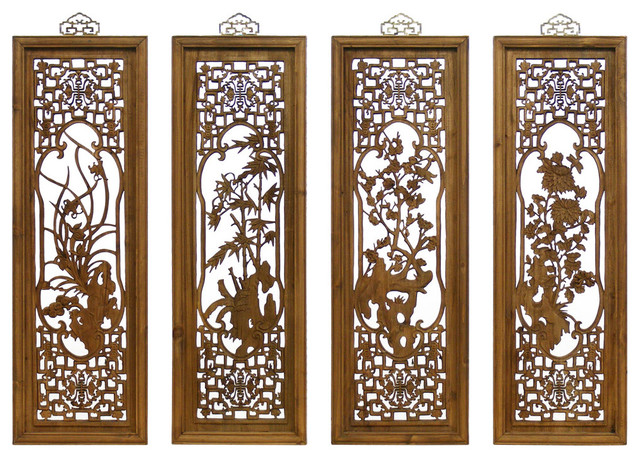Asian Window Panels 8