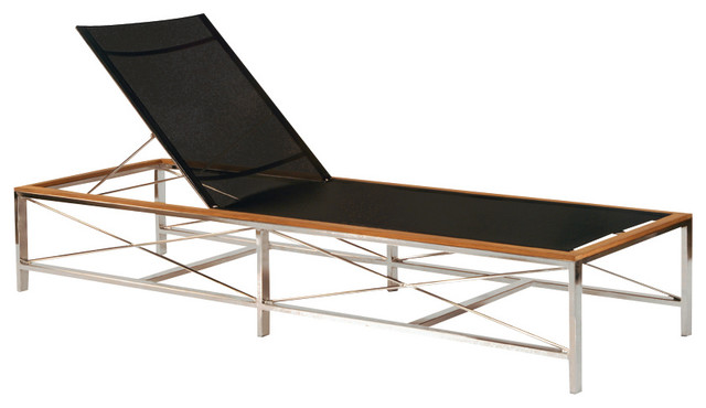 Ibiza Chaise By Kingsley Bate Modern Outdoor Chaise Lounges Dc Metro