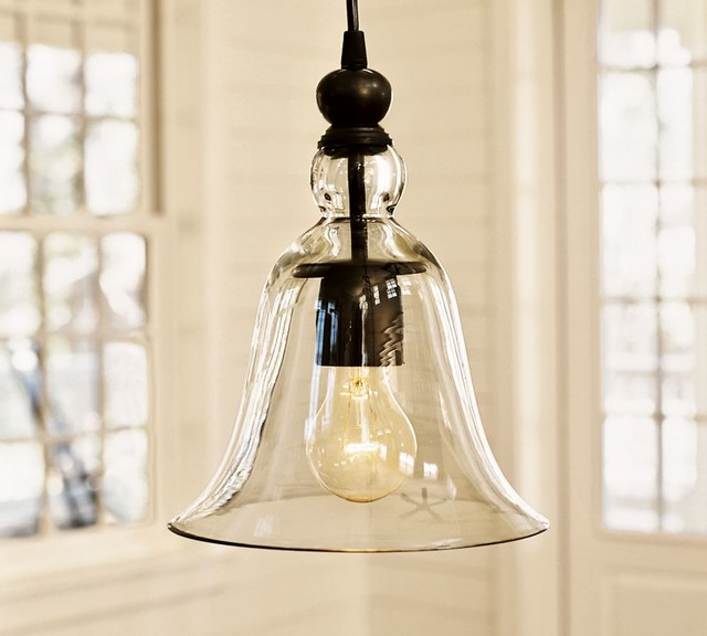 Kitchen Pendant Lighting Pottery Barn: RUSTIC GLASS INDOOR/OUTDOOR PENDANT
