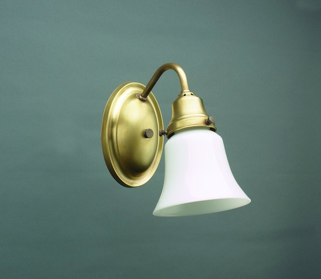 Brass Vanity Lights Bathroom : 1 Light 5
