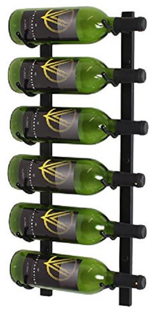 ... Bottle Wall Mounted Wine Rack - Modern - by Wine Racks America