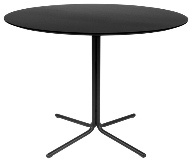 inch round dining table with black legs black modern dining tables