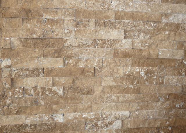 Splitface collection walnut travertine contemporary for Bathroom tile philadelphia