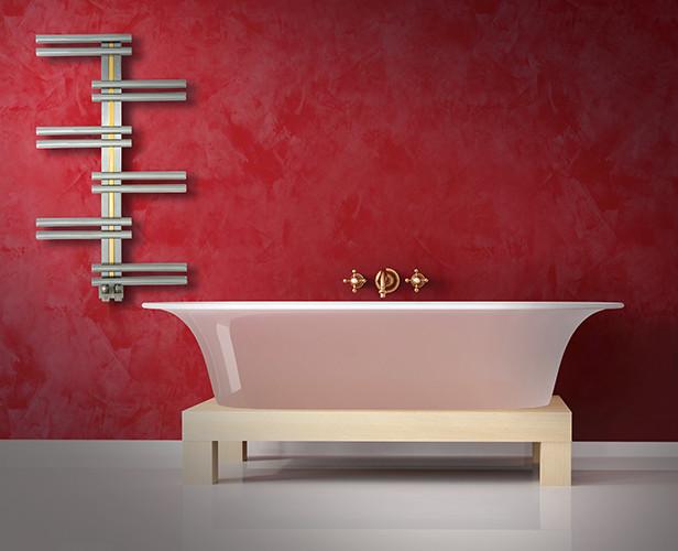 keops stainless steel towel warmer hammam contemporain s che serviette par. Black Bedroom Furniture Sets. Home Design Ideas