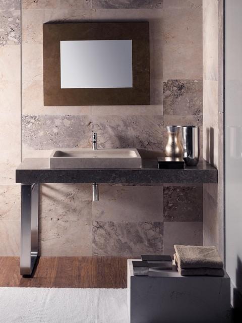 FLAT Counter-top Wash Basin - Modern - Bathroom Sinks ...