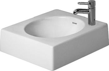 Duravit above counter basin 45 cm architec 0320450023 for Duravit architec sink
