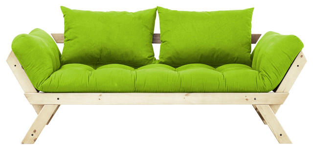 Lime Green College Futon Dorm Furniture 489