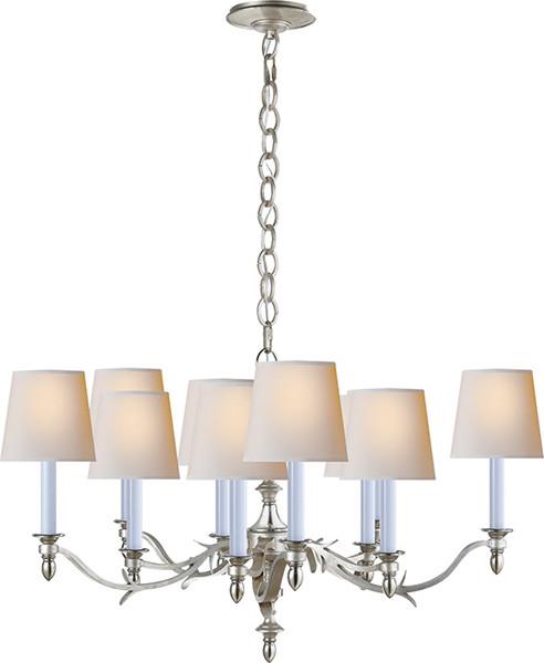 chandler small chandelier contemporain lustre par. Black Bedroom Furniture Sets. Home Design Ideas