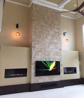 Gas fireplace designs doublesided fireplace gas closed hearth lucius with gas fireplace designs - Beautiful corner fireplace design ideas for your family time ...