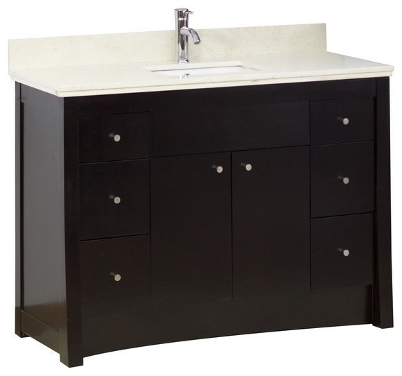 New Cade Contempo Double 60 Inch Transitional In Bathroom Vanities