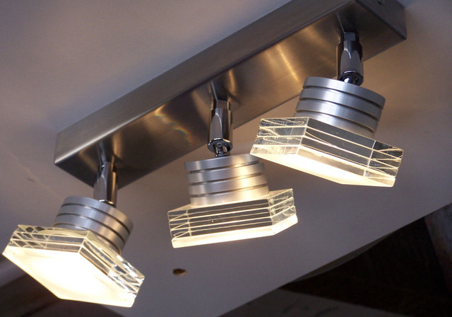 Clarity trio led ceiling light modern spotlights and downlights other metro by the light - Modern architectural trio ...