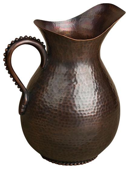 88oz pitcher antique copper rustikal kr ge kannen. Black Bedroom Furniture Sets. Home Design Ideas