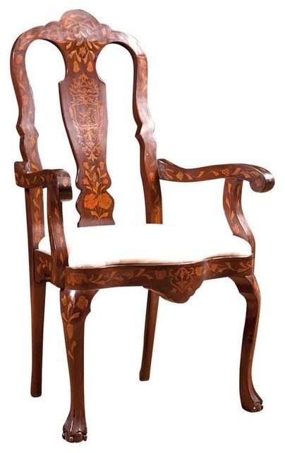 ... American Chair with Satinwood Inlays c.1890 midcentury-rocking-chairs