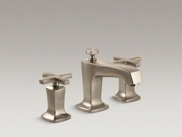 Cross Handle Bathroom Sink Faucet : ... bathroom sink faucet with cross handles contemporary-bathroom-faucets