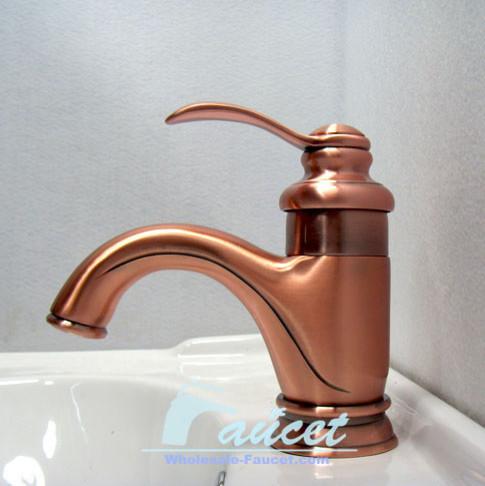 Copper Bathroom Basin Faucet 5493C contemporary-bathroom-faucets ...