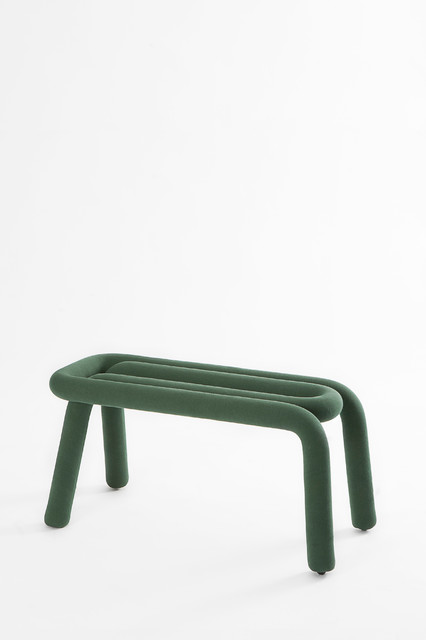 Banc bold bench forest green design big game for Chaise bold big game