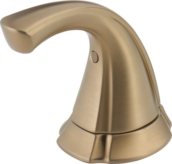 Delta H292CZ Addison Single Metal Lever Handle Kit - Bidet in Champagne Bronze - Traditional ...