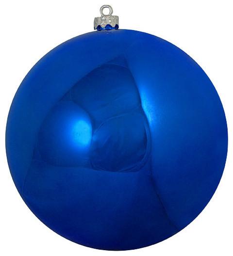 """Blue Christmas Ball Ornaments Uk: 6"""" Shatterproof Shiny Commercial Christmas Ball Ornament"""