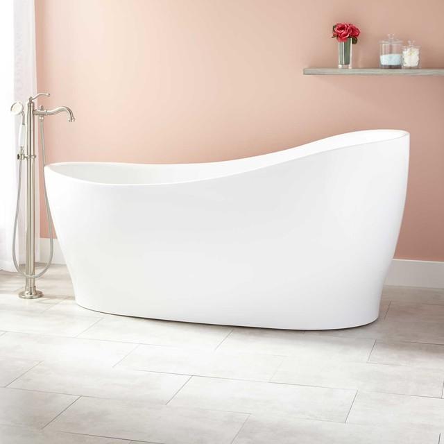 Wilkinson Acrylic Freestanding Tub Modern Bathtubs