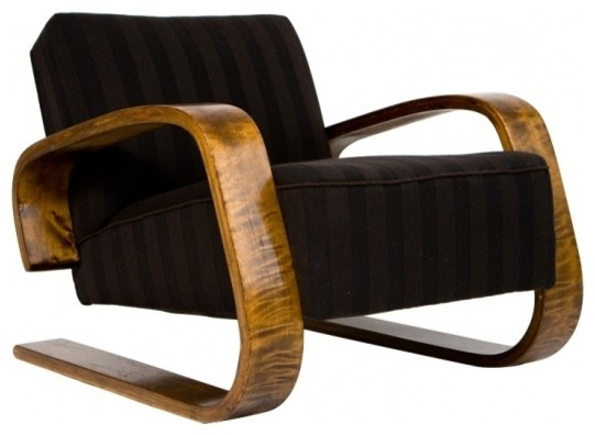 Alvar aalto tank chair armchairs and accent chairs by for Chaise alvar aalto