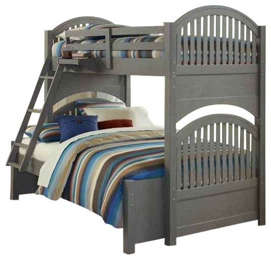 Twin Over Full Bunk Bed Contemporary Bunk Beds By Shopladder