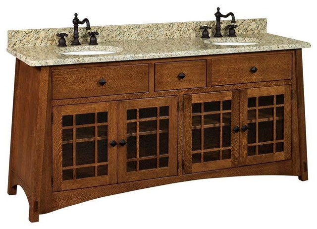 Mccoy Bathroom Vanity Craftsman Bathroom Vanities And Sink Consoles By Amish Showroom