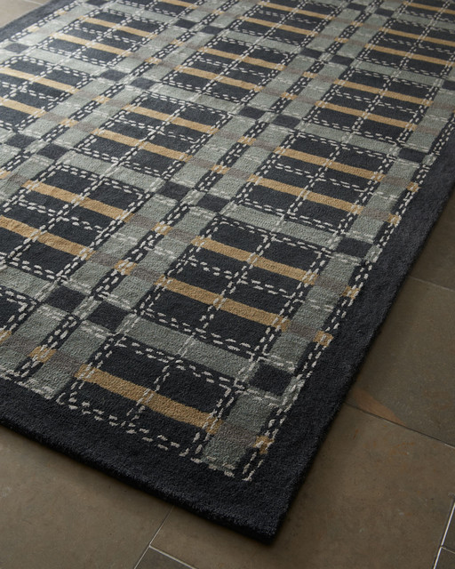 Plaid Rug: Kevin Plaid Rug 8' X 10'