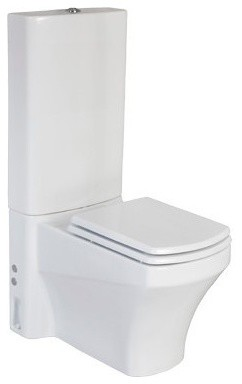 Natura All In One Combined Bidet Toilet With Soft Close Seat Contemporary