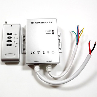 RGB ColorPlus 4-Channel LED Controller (rain-proof) - 12 or 24 VDC ...