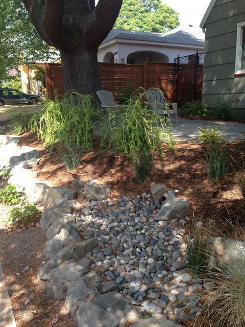 Rain garden for Home rain garden design