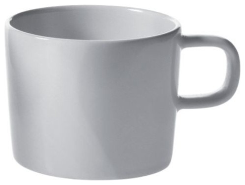 Platebowlcup mocha cup set of 4 by alessi modern - Alessi dinnerware sets ...