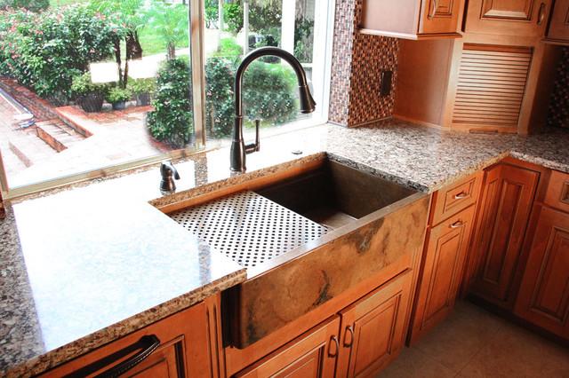 Signature Series Copper Apron Front Sink By Rachiele