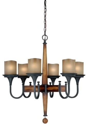 Rustic Contemporary Chandelier Lighting