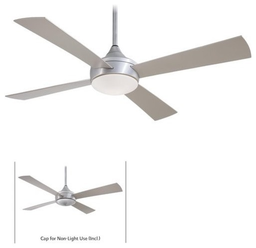 4 Blade 52 Indoor Outdoor Ceiling Fan Light Kit