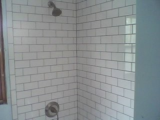 Removing Old Black White Victorian Tiles Off Kitchen Wall