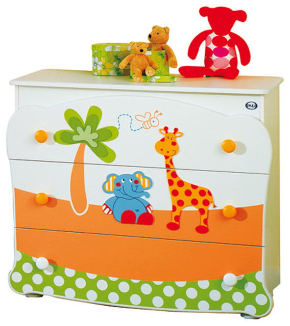 Baby room chest of drawers gigi lele by pali for Childrens wardrobes uk