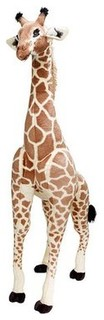 Melissa & Doug Deluxe Plush Giraffe - Traditional - Kids ...