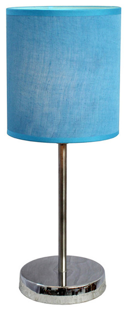 Simple Designs Living Room Bedroom Chrome Basic Table Lamp Contemporary Table Lamps By