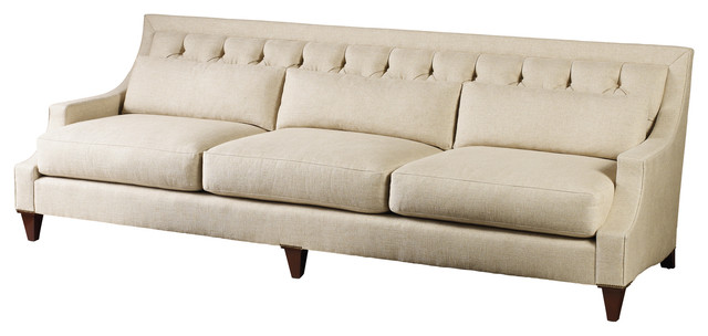 max sofa tufted baker furniture modern sofas by