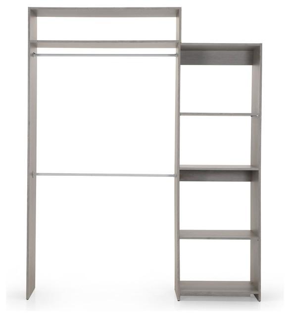 extendo kit d 39 am nagement de placard extensible contemporain armoire et dressing par. Black Bedroom Furniture Sets. Home Design Ideas
