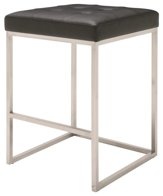 stainless steel counter stool modern bar stools and