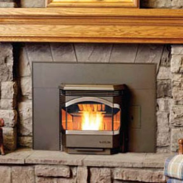 Bowdens Wood Pellet Stove Inserts Fireplace Accessories