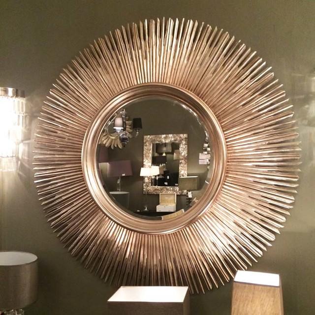 Extra Large Sunburst Mirror 145cm