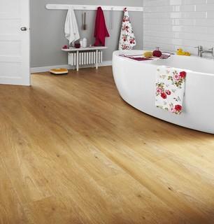 Aberdeen 12mm rustic laminate flooring by topps tiles for Laminate flooring aberdeen