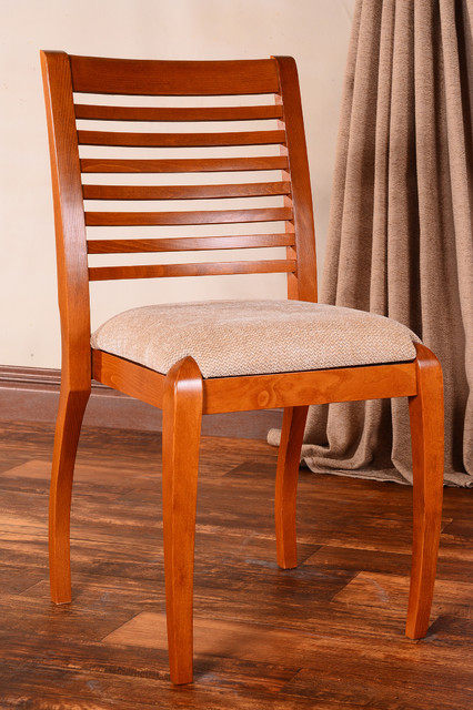 sienna horizontal cherry dining chairs set of 2 contemporary dining