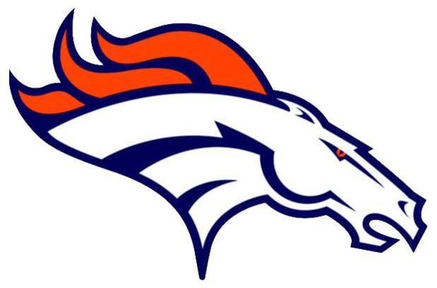 Nfl Denver Broncos Teammate Logo Wall Sticker Decal