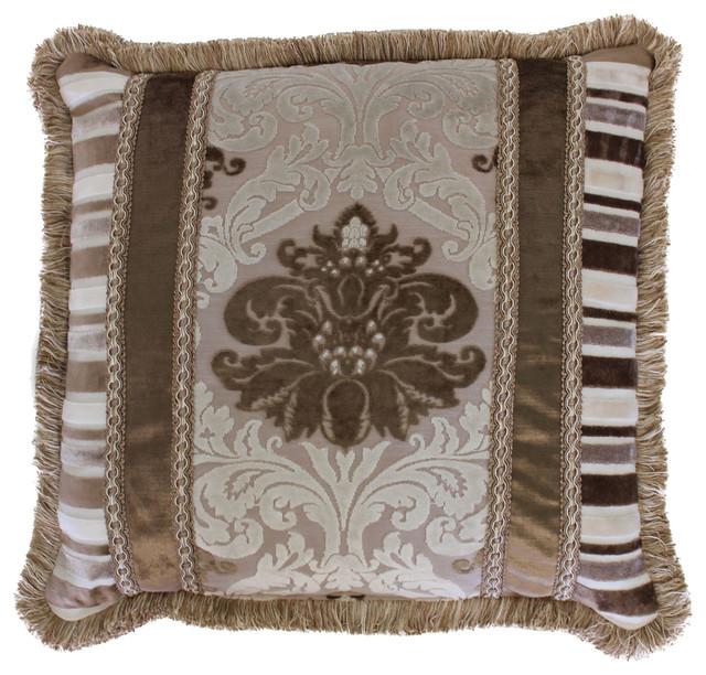 Decorative Victorian Pillows : Austin Horn Classics Minuet 5-Pieced Fringed Pillow - Victorian - Decorative Pillows - by Sherry ...